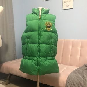 NWT Girls Ralph Lauren Reversible Vest